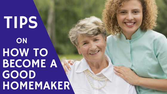 Tips On How To Become A Good Homemaker
